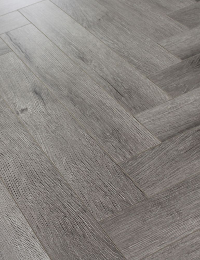 Castle Grey Herringbone
