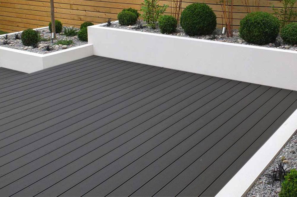 Charcoal Composite Decking 3.6m Length Composite Decking | The Floor Store