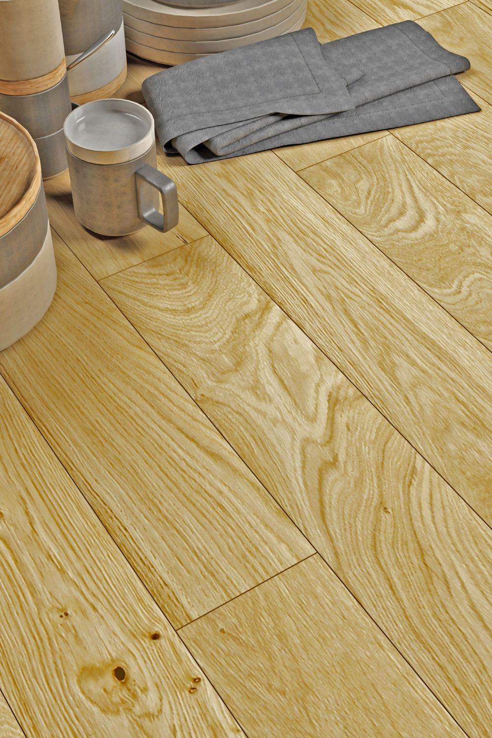 125mm Natural Oak