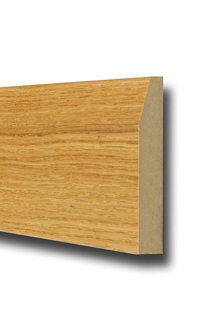 Oak Bevelled Skirting 4.2m Length