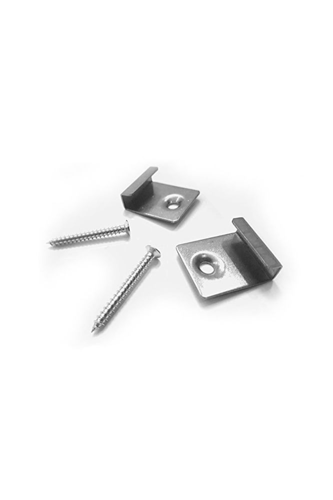 Stainless Steel Starter Clips and screws (10pk)
